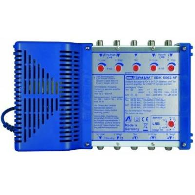 Spaun SBK 5502 NF Signaalversterker TV - Blauw