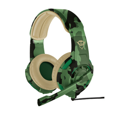 Trust GXT 310 Cammo - Gaming (PC + PS4 + Xbox One) - Jungle Camouflage Headset