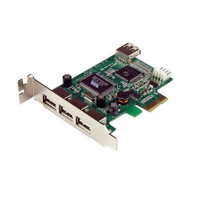 StarTech.com PEXUSB4DP interfacekaarten/-adapters