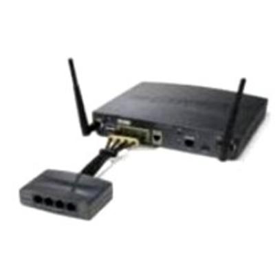 Cisco 800-IL-PM-4= PoE adapter - Zwart