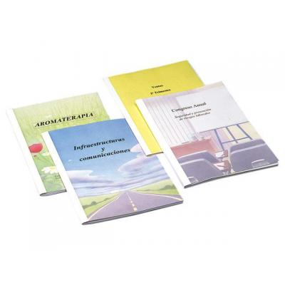 Staples binding cover: Inbindmap SPLS thermo 4,0mm wit/ds 100