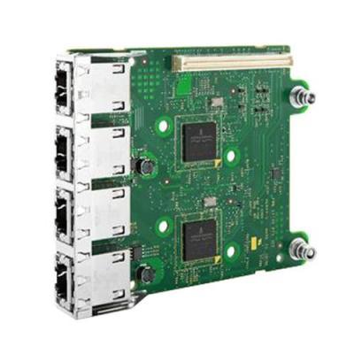 Dell netwerkkaart: 5720 QP 1GB Netwerkdochterkaart - Groen