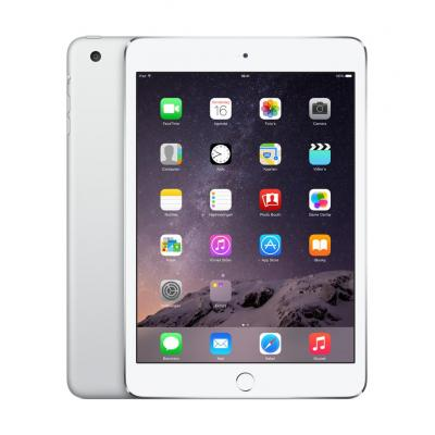 Apple iPad mini 3 Wi-Fi Cell 64GB Silver Tablet - Zilver - Refurbished B-Grade