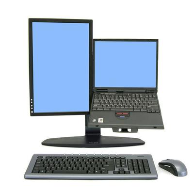 Ergotron monitorarm: Neo Flex Neo-Flex LCD & Laptop Lift Stand - Zwart