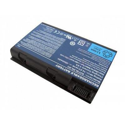 Acer batterij: BT.00803.023 OEM - 14.8V 4800mAh Laptop Battery - Zwart
