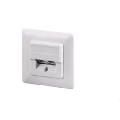 Microconnect Cat 5e, 2xRJ45 Wandcontactdoos - Wit