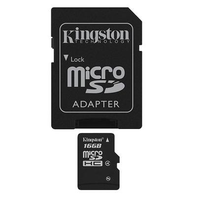 Kingston Technology MicroSD High Capacity flashgeheugen - Zwart