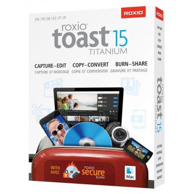 Corel software: Toast Titanium 15 ML Mini Box