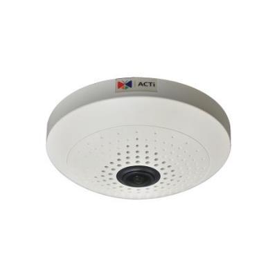 """Acti beveiligingscamera: 1/3"""" CMOS, 2048x1536px, PoE, 4.5W, 150x48mm, 338g, Black/White - Zwart, Wit"""