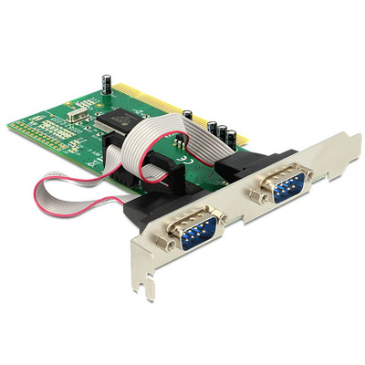 Delock interfaceadapter: PCI card 2x serial
