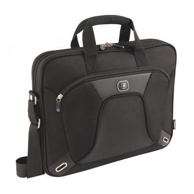 Wenger/swissgear laptoptas: Administrator SL 15 - Zwart, Grijs