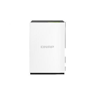 "Qnap NAS: ARM v7 1.1 GHz Dual-core, 1GB DDR3, 4 GB, 2 x 3.5"" SATA HDD, 1 x Gigabit RJ-45 Ethernet, 1 X USB 3.0, 1 X USB ....."