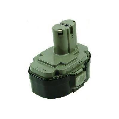 2-power batterij: PTH0054A - NiMH, 18V, 3000mAh, 1100g, black/green - Zwart, Groen