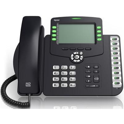 Tiptel ip telefoon: 3240 - Antraciet, Zwart