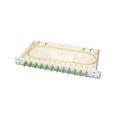 ASSMANN Electronic AL-19AZ-12E2000-K-9 Fiber optic adapter - Wit