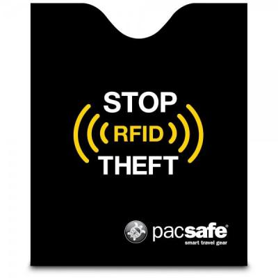 Pacsafe : RFIDsleeve 50 - Zwart