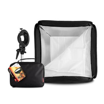 Hahnel softbox: Speedlite SoftBOX60 Kit - Zwart, Wit