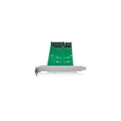 ICY BOX IB-CVB512-S Interfaceadapter - Groen