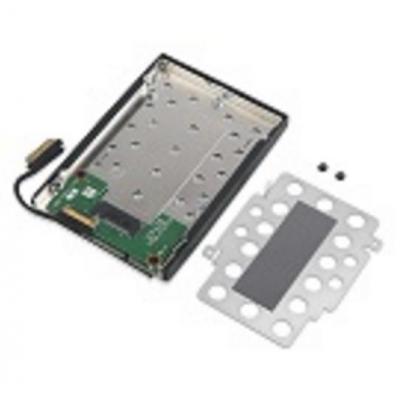 Lenovo behuizing: ThinkPad M.2 SSD Tray 1 - Zwart, Grijs