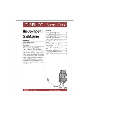 O'reilly boek: Media The OpenBSD 4.0 Crash Course - eBook (PDF)