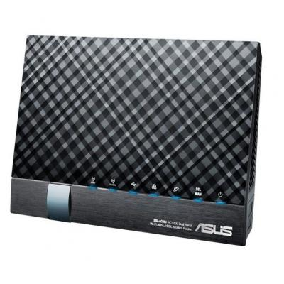 ASUS DSL-AC56U Wireless router - Zwart