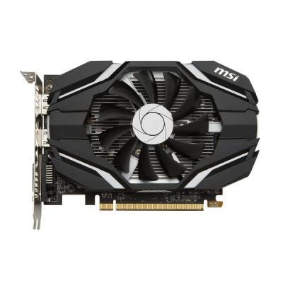 MSI Radeon RX 460 2G OC Videokaart - Zwart, Wit