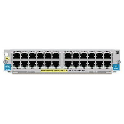 Hewlett Packard Enterprise HP 24-port 10/100/1000 PoE zl Module Netwerk switch module - .....