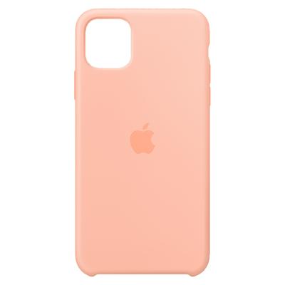 Apple Siliconenhoesje voor iPhone 11 Pro Max - Grapefruit Mobile phone case - Oranje