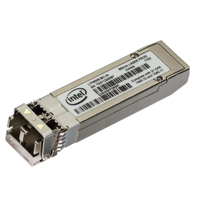 Intel netwerk tranceiver module: Intel® Ethernet SFP28 Optic - Zilver