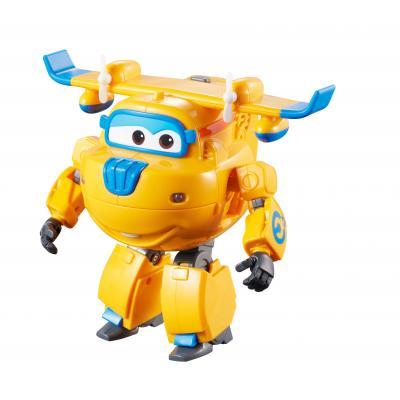 Alpha animation & toys toy vehicle: Super Wings Speelfiguren Transform 'n Talk - Donnie - Blauw, Oranje