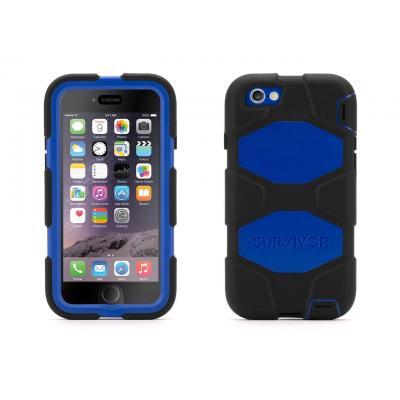 Griffin mobile phone case: Survivor All-Terrain - Zwart, Blauw