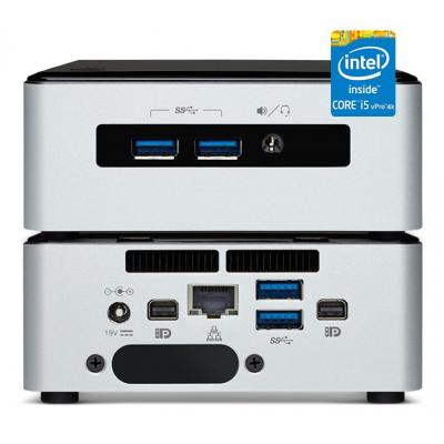 Vision mediaspeler: VMP-5I5MYHE I5 4K VPRO VMP - Zwart, Zilver