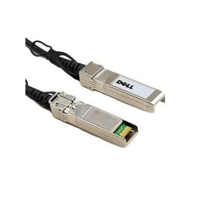 Dell kabel: QSFP+/ QSFP+, Twinaxial, 5m - Zwart, Zilver