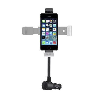 Belkin houder: iPhone 5/5S-houder voor opladen en navigeren in de auto - Zwart
