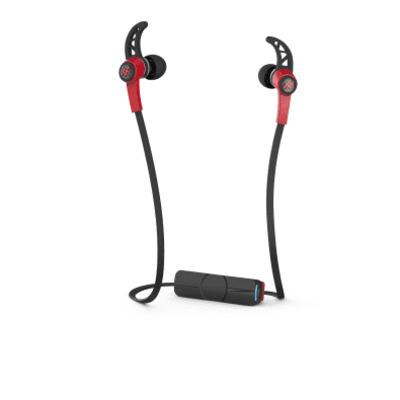 IFROGZ Summit Headset - Zwart, Rood