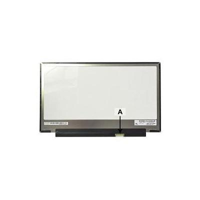 "2-power notebook reserve-onderdeel: 33.782 cm (13.3 "") 1920x1080 FullHD Glossy - Zwart, Grijs, Wit"
