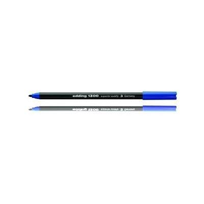 Edding viltstift: e-1300 - Zwart, Blauw