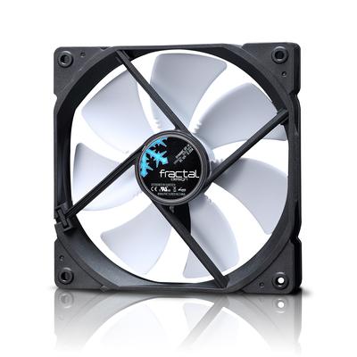 Fractal Design Dynamic GP-14 White Hardware koeling - Zwart, Wit