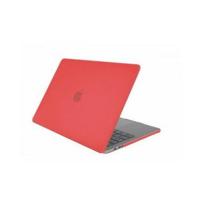 """Gecko 'Clip On' protection cover for MacBook Pro 15"""" (2016), Red Laptoptas"""