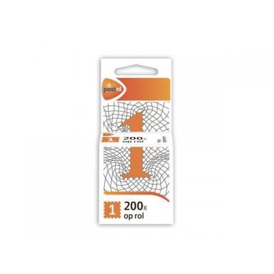 Postnl briefpapier: Postzegel NL waarde 1 zelfkl/rl200
