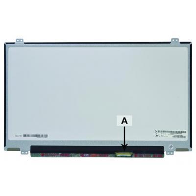 "2-power notebook reserve-onderdeel: 35.56 cm (14 "") , HD+, 1600x900, LED, 330g - Multi kleuren"