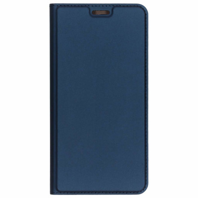 Slim Softcase Booktype Samsung Galaxy A7 (2018) - Blauw / Blue Mobile phone case