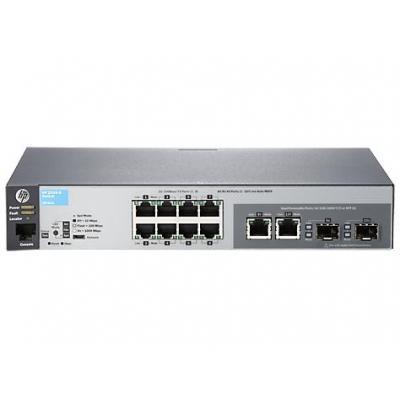 Hewlett packard enterprise switch: Aruba 2530-8 - Grijs