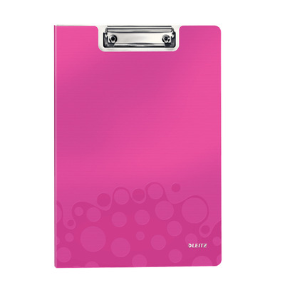 Leitz WOW Clipfolder with cover Klembord - Roze