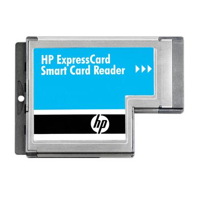 HP ExpressCard Smart Card Reader Smart kaart lezer - Metallic