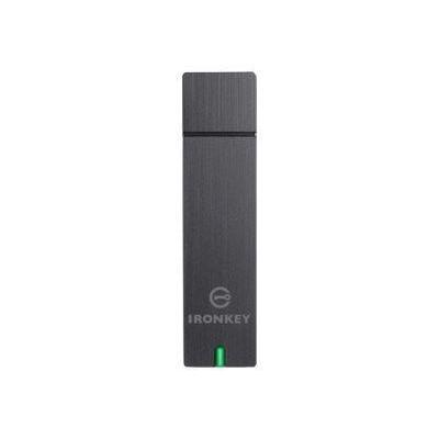 Ironkey flashgeheugen: Basic D250 32GB - Zwart