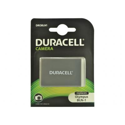Duracell batterij: Replacement Olympus BLN-1 Battery, 1100mAh, 7.4 V - Zwart