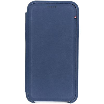 Leather Slim Wallet iPhone Xs / X - Blauw - Blauw / Blue Mobile phone case