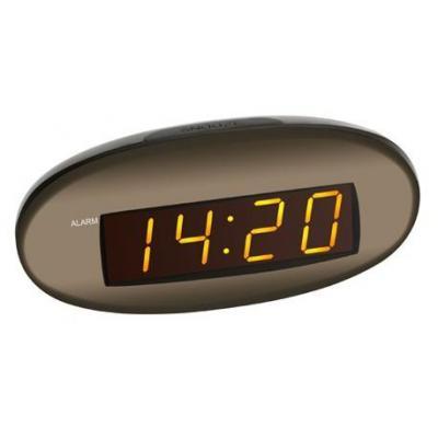 Tfa wekker: Alarm clock - Bruin