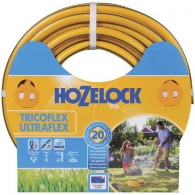 Hozelock tuinslang: Tricoflex Ultraflex slang Ø 15 mm 15 meter - Grijs, Geel
